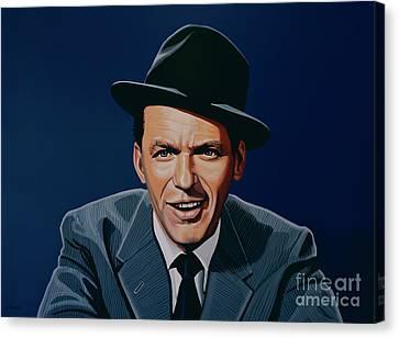 Frank Sinatra Canvas Print by Paul Meijering