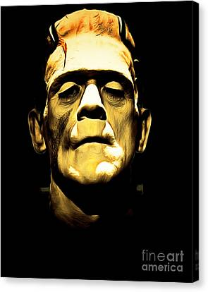 Frankenstein 20140921brunaille Canvas Print by Wingsdomain Art and Photography