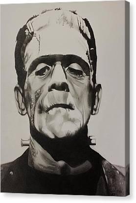 Frankenstein  Canvas Print by Brian Broadway