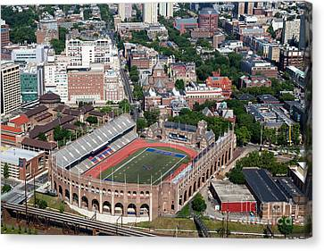 Franklin Field University City Pennsylvania Canvas Print by Bill Cobb