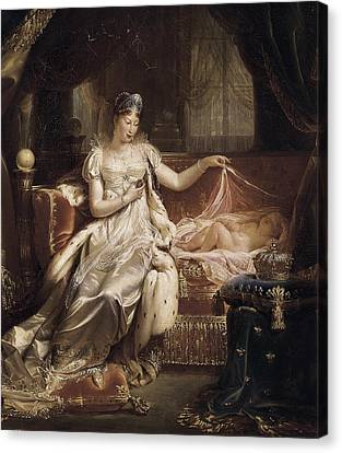 Franque, Joseph 1774-1833. Marie-louise Canvas Print by Everett