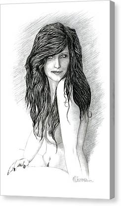 Fraulein 2 Canvas Print by Joe Olivares