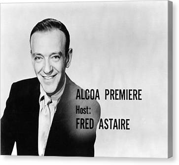 Fred Astaire In Alcoa Premiere  Canvas Print by Silver Screen