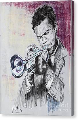Freddie Hubbard Canvas Print by Melanie D