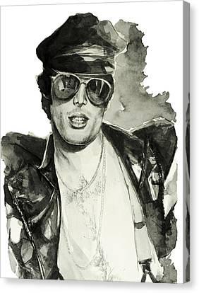 Freddie Mercury 3 Canvas Print by Bekim Art
