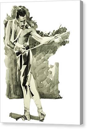 Freddie Mercury 6 Canvas Print by Bekim Art