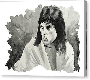 Freddie Mercury 7 Canvas Print by Bekim Art