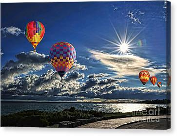 Free As A Bird Canvas Print by Andrea Kollo