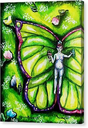Free As Spring Flowers Canvas Print by Shana Rowe Jackson