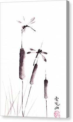 Free As The Dragonflies Canvas Print by Oiyee At Oystudio