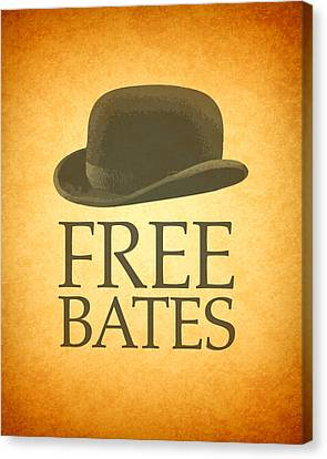 Free Bates Canvas Print by Design Turnpike