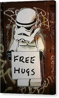 Free Hugs Canvas Print by Brian Chase
