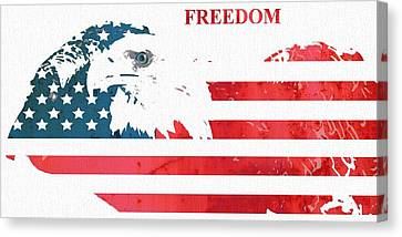 Freedom Canvas Print by Dan Sproul