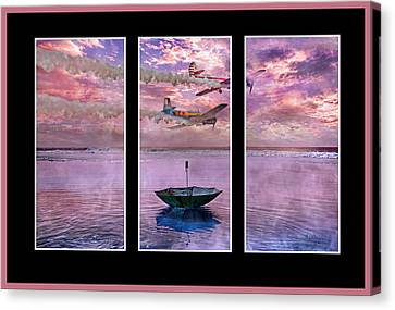 Freedom Flyers Canvas Print by Betsy Knapp