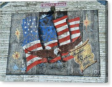Freedom Is Never Free Canvas Print by Paul Ward