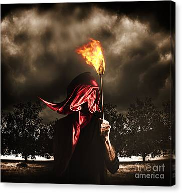 Freedom Or Fire. A Statute Of Liberty Canvas Print by Jorgo Photography - Wall Art Gallery