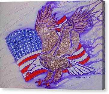 Freedom Reigns Canvas Print by Mark Schutter