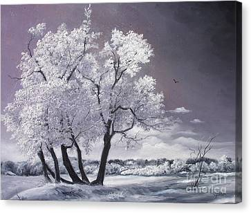 Freeze Canvas Print by Sorin Apostolescu