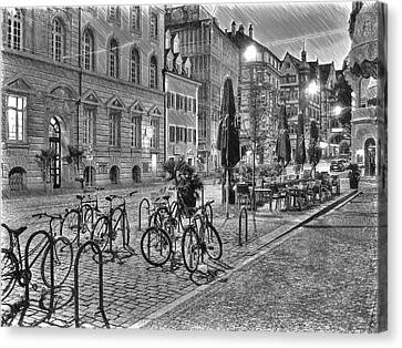 Freiburg Road Homes  Canvas Print by Dean Wittle