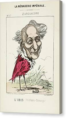 French Caricature - L'ibis Canvas Print by British Library