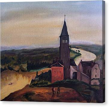 French Countryside Canvas Print by Jessica Sanders