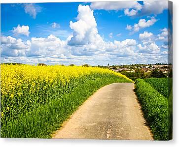 French Countryside Canvas Print by Nila Newsom