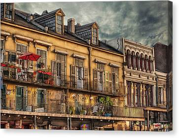 French Market View Canvas Print by Brenda Bryant