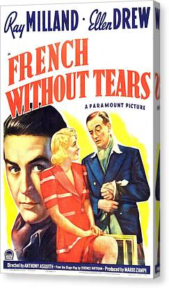 French Without Tears, British Poster Canvas Print by Everett