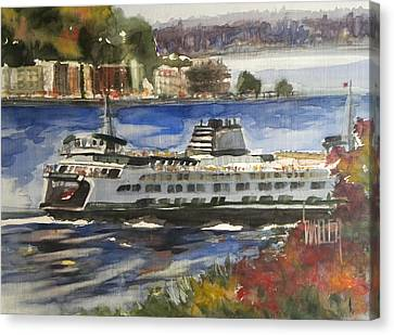 Fresh Air Crossing Canvas Print by Lola Waller