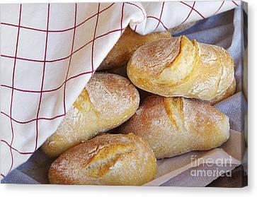 Fresh Bread Canvas Print by Carlos Caetano