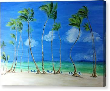 Fresh Breezes Canvas Print by Beth Waltman