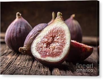 Fresh Figs Canvas Print by Edward Fielding