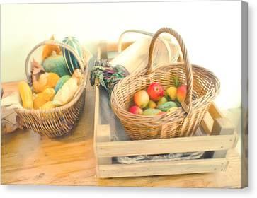 Fresh Harvest Canvas Print by Tom Gowanlock