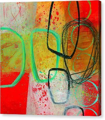 Fresh Paint #3 Canvas Print by Jane Davies