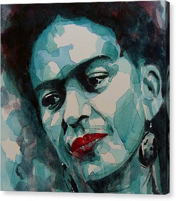 Frida Kahlo Canvas Print by Paul Lovering