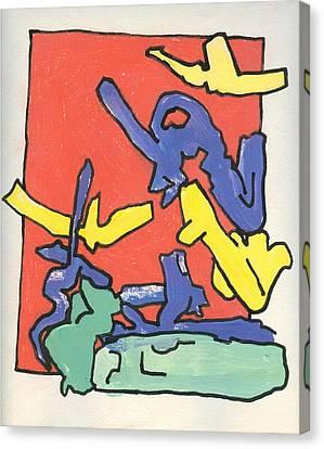 Friendly Sin Canvas Print by Ralf Schulze