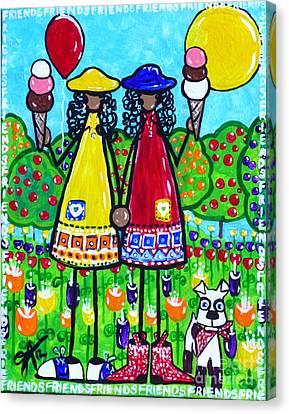 Friends Canvas Print by Jackie Carpenter