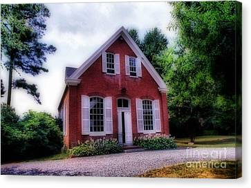 Friends Meeting House Canvas Print by Skip Willits