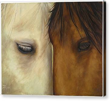 Friends Canvas Print by Suzie Richey