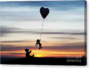 Friends Canvas Print by Tim Gainey