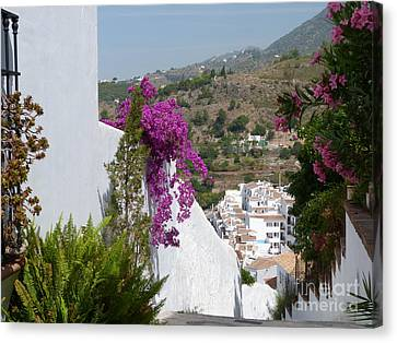 Frigiliana Vista Canvas Print by Phil Banks