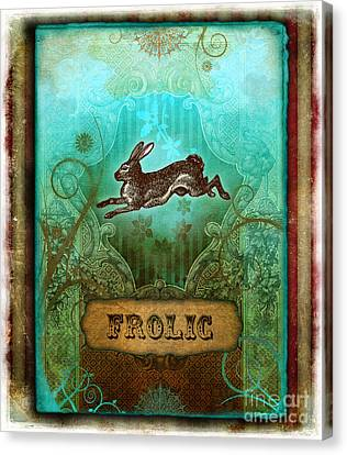 Frolic Canvas Print by Aimee Stewart