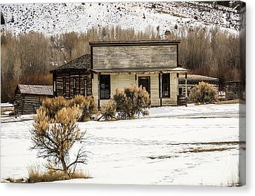 From Saloon To Store Front And Home Canvas Print by Sue Smith