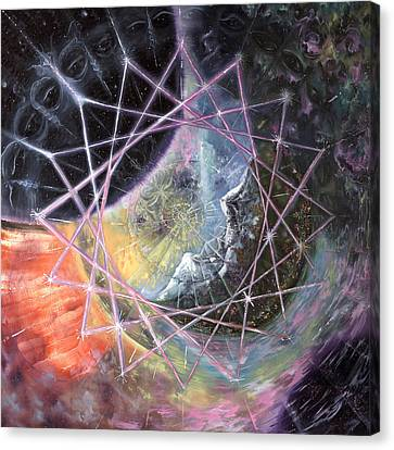 From The Inward Outward Canvas Print by Jerod  Kytah