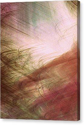 Frond Frenzy Canvas Print by Randall Weidner