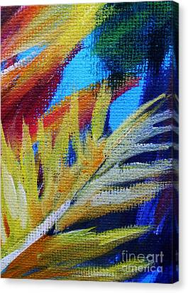 Fronds Canvas Print by John Clark
