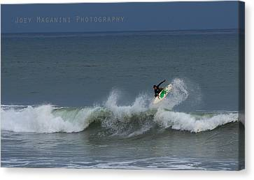 Frontside  Canvas Print by Joey  Maganini