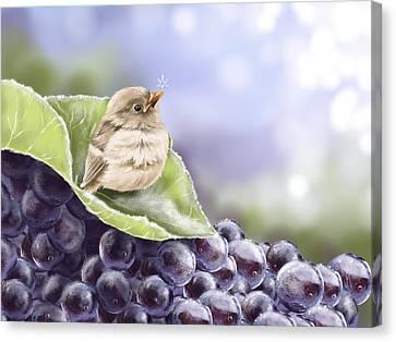 Frost Canvas Print by Veronica Minozzi