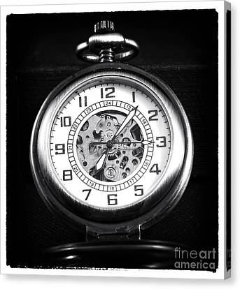 Frozen In Time Canvas Print by John Rizzuto