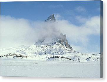 Frozen Peak 1001 Canvas Print by Brent L Ander